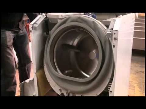 front load washer parts diagram shunt wound dc motor wiring maytag repair - bearing and seal failure youtube