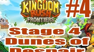 Kingdom Rush Frontiers 2014 July Stage 4 Dunes of Despair   3 Stars