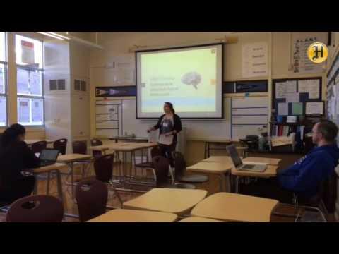 El Sausal Middle School math teacher Kim Margosian talks about 'flipping' her classroom 2/2
