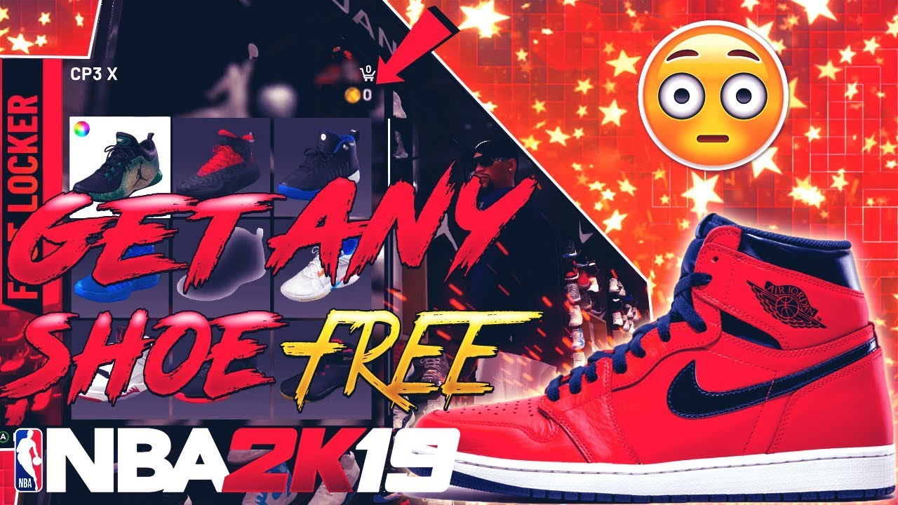 HOW TO GET FREE CLOTHING ITEMS IN NBA 2K19! FREE SHOES GLITCH