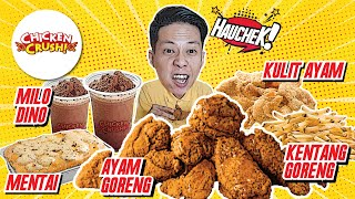 CHICKEN CRUSH- MAKANAN FAVORIT PEMERSATU BANGSA INDONESIA!!