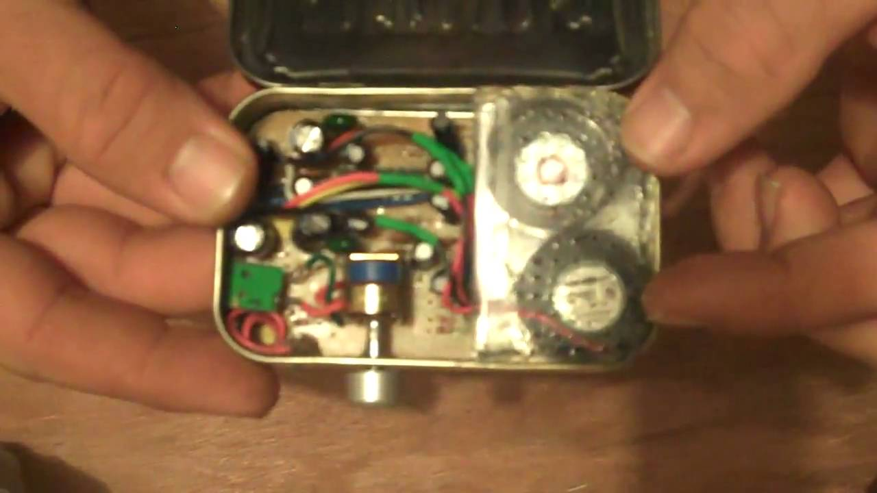 Mintyboom altoids tin project amplified speakers youtube for Tin projects