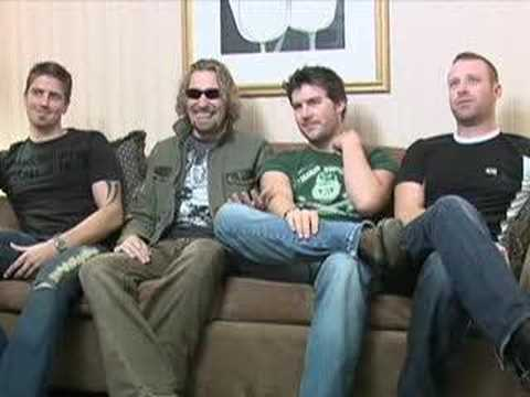 Funny Nickelback Interview
