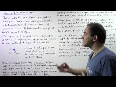 Statistical vs Deterministic Theory in Quantum Mechanics