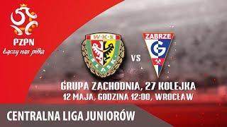 CLJ: Śląsk Wrocław - Górnik Zabrze