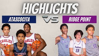 Atascocita vs Ridge Point HIGHLIGHTS // Basketball Playoffs