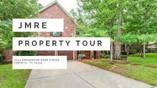 Property Tour: 3004 Enchanted Oaks Circle, Corinth TX 76210