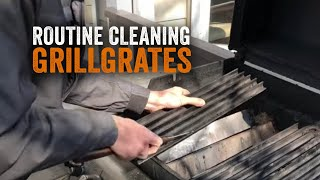 Maintaining Your GrillGrates with The Commercial Grade Grill Brush and Scraper