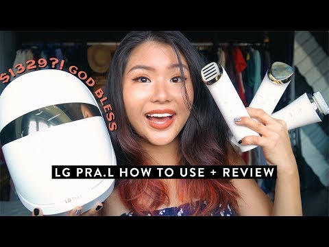 FACIALS ALL DAY ERR DAY   lg pra.l system guide & review