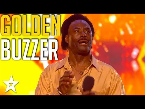 GOLDEN BUZZER Singer Shows Judges How To Wiggle and Wine on Britain's Got Talent 2018
