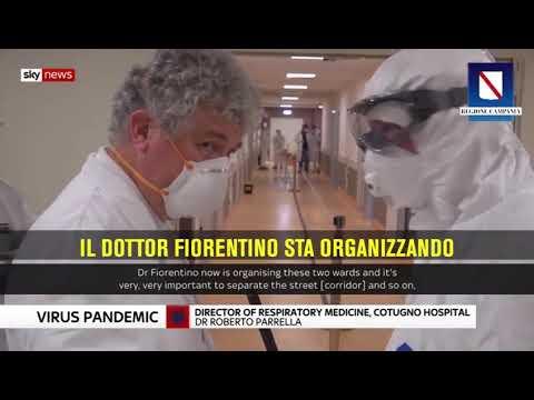 Coronavirus, Il Servizio Di Sky News UK Sul Cotugno Di Napoli