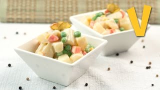 Olivier Salad (russian Salad) | The Vegan Corner