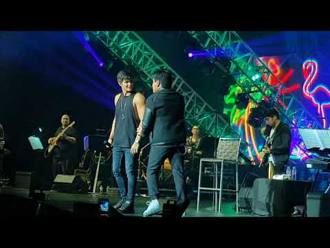 Matteo Guidicelli and Martin Nieverra at Hey Matteo Concert
