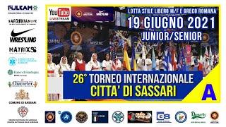26° Torneo Internazionale Città di Sassari   Mat. A   19 Giugno 2021
