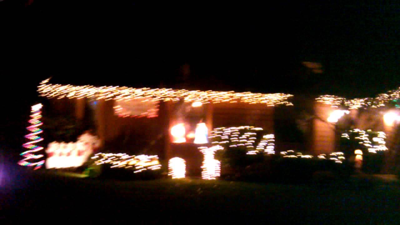 Keizer Christmas lights 2012 - YouTube
