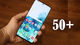 TOP 50 Samsung Galaxy S20, S20+ & S20 Ultra Tips and Tricks