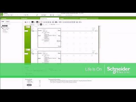 Changing Functional Level of a Modicon M221 SoMachine Basic Program |  Schneider Electric Support