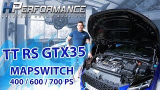 AUDI TTRS 8S GTX35 mit Mapswitch 400 / 600 / 700 PS