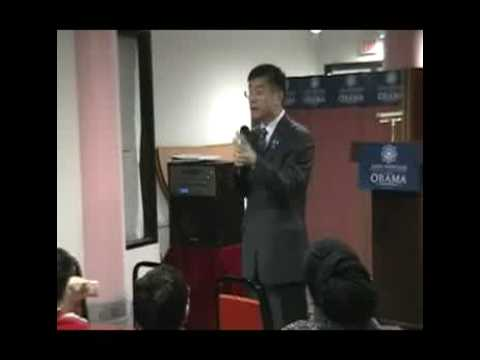 Gary Locke at Asia Plaza Cleveland, OH Pt 2
