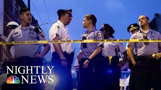 Suspect Surrenders After Six Police Officers Shot In Philadelphia Standoff | NBC Nightly News