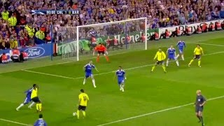 Iniesta Silences Stamford Bridge - UCL Semifinal 2009 - English Commentary