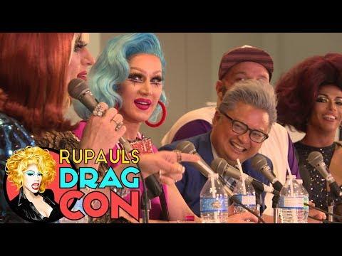 Shangela, Coco Peru, Heklina, Charlie Hides & More   COMEDY QUEENS @ RuPaul's DragCon 2017