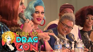 Shangela, Coco Peru, Heklina, Charlie Hides & More | COMEDY QUEENS @ RuPaul's DragCon 2017