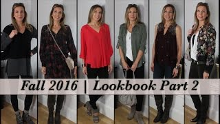 Fall Style Ideas for Mature Women! Fall 2016 Lookbook Part 2 | HotandFlashy