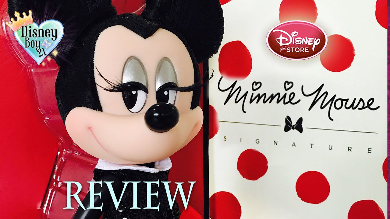 Minnie Mouse Signature minnie mouse signature designer doll review ...