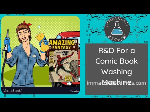 Development of a comic book washing machine