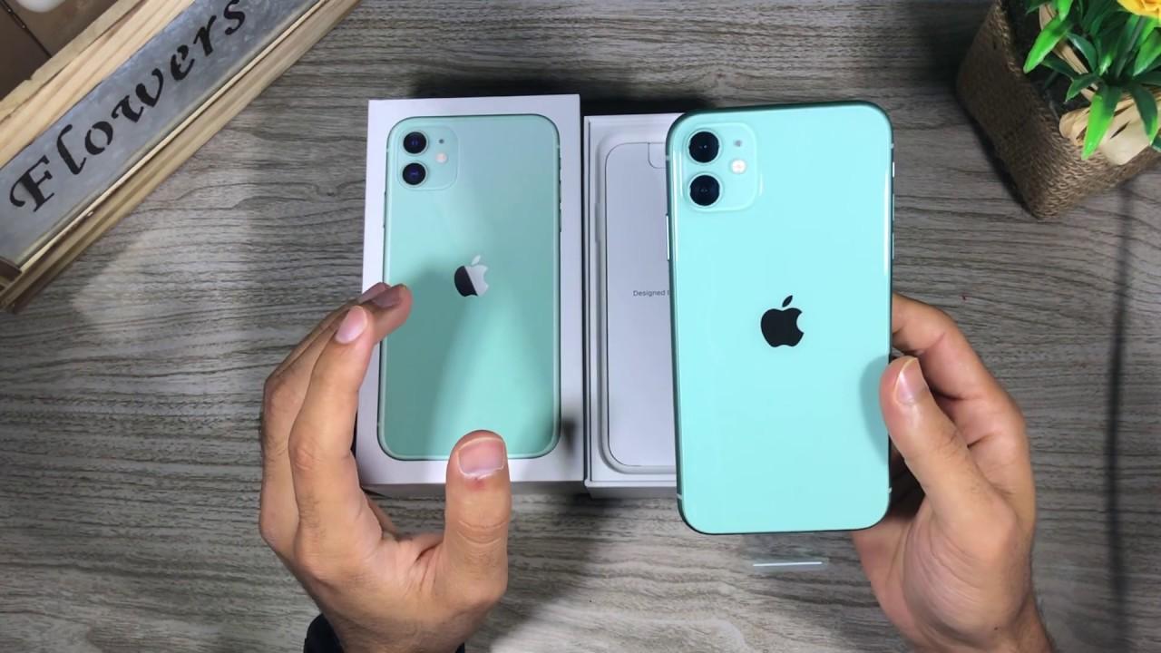فتح صندوق ايفون ١١ الاخضر التيفاني Unboxing Iphone 11 Green Youtube