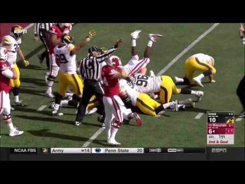 Iowa Hawkeyes 12-0 Season Highlights (2015)