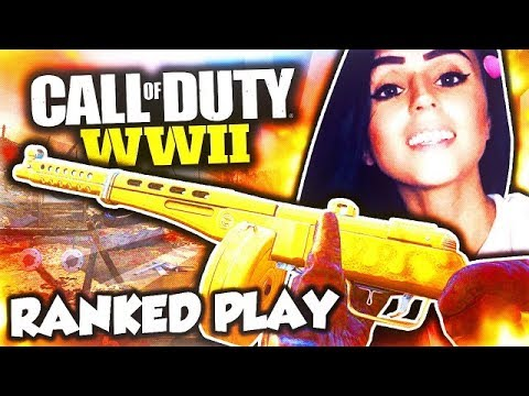 CALL OF DUTY WW2 W/DOOM LUCKYGIRL! BIG SUPPLY DROP OPENING, PUBSTOMPING, RANKED PLAY, AND ZOMBIES!!!