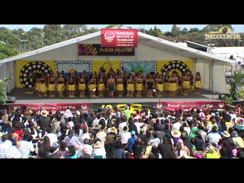 Polyfest 2015 Niue Stage Edgewater College