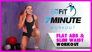 Flat abs Workout for a Slim Waist: 7 Minute Workout