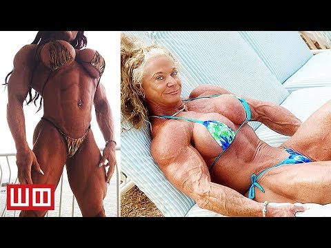 Most Extreme Female Bodybuilders…That Haven't Been Morphed in Photoshop