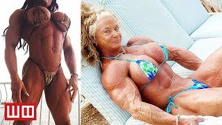 Most Extreme Female Bodybuilders...That Haven