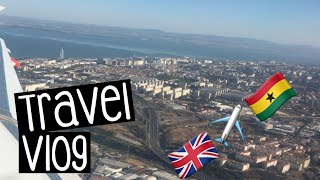 VLOG #1 | England to Ghana in less than 10 mins!!