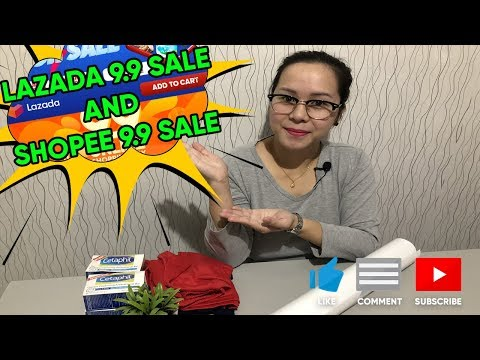 Unboxing 9.9 Sale Items From Lazada And Shopee