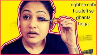 Funny Left Hand Makeup Challenge | Captain Nick