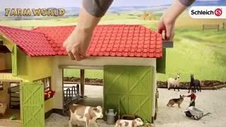 Schleich DUŻA FARMa ze zwierzętami +akcesoria SLH42333