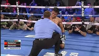Maxim Dadashev Floors Sismundo and Gets the KO!