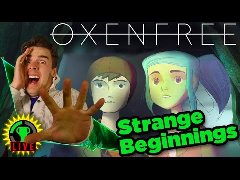 GTLive: It's About to get WEIRD! | Oxenfree - People have been telling me about OXENFREE for a while now, and I'm Excited to finally Play it! The game has Ghosts, inter-dimensional travel, and Teen Angst!