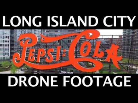 DJI Phantom 3 - Long Island City NY Drone Footage