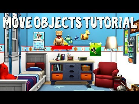 How To Build In The Sims 4 🔨 || Move Objects Tutorial thumbnail