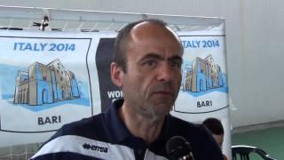 03-07-2014: tdrvolley2014, Intervista al tecnico Bruni della Toscana femminile