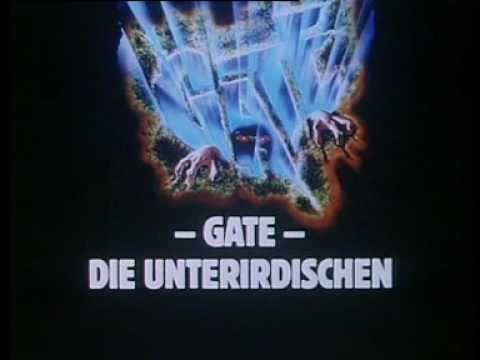 Gate Die Unterirdischen Stream