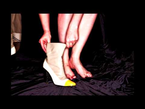 Shoe-Down-- the shoe showdown for patrons of the Seattle Erotic Art Festival