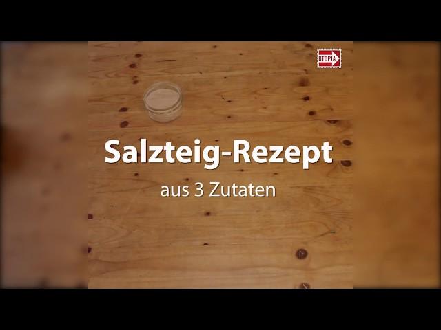 Bekannt Salzteig-Rezept: In wenigen Schritten herstellen und backen DW56