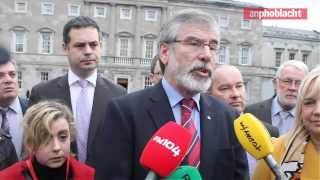 Minister Phil Hogan should resign - Gerry Adams TD